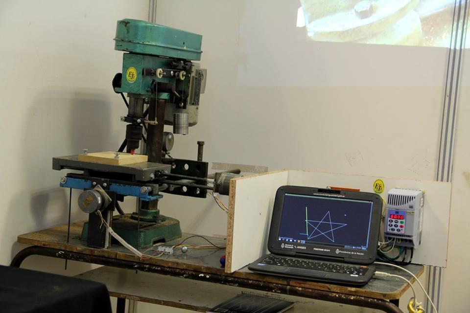 Proyecto Fresadora CNC mediante Arduino