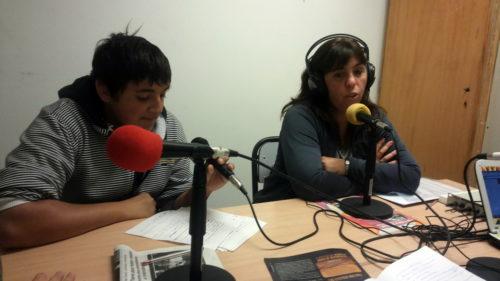 Nos visitó la Directora de la ESB 4, Estela Sánchez.