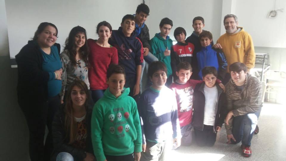 Se viene, se viene, la Escuela de Estética, nos visitó Martina Bruno