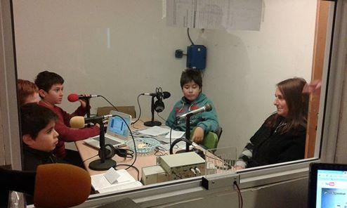Miriam Lazzero, la nueva dire nos visitó en la radio