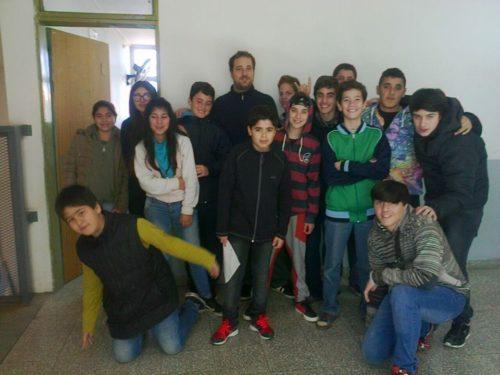 Nicolas Bagliere, flamante coordinador de Políticas Socio Educativa pasó por Radio E.CO