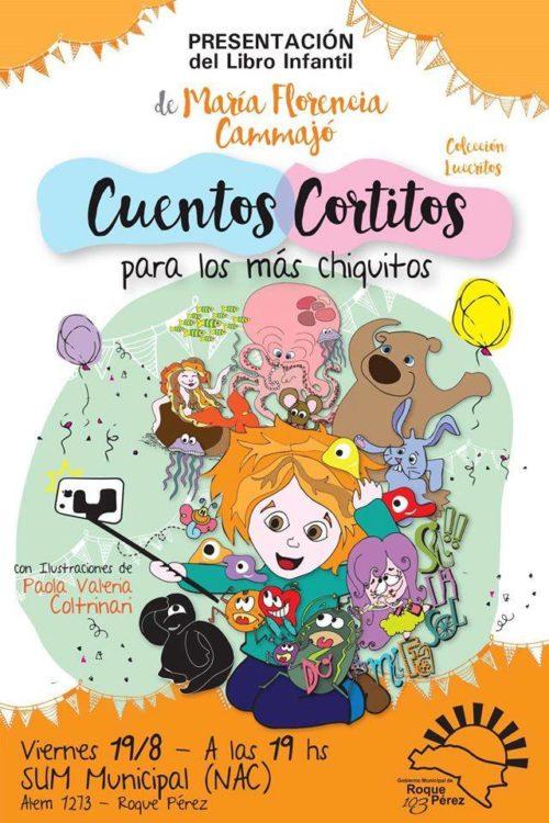 Florencia Cammajó, nos contó sus Cuentos cortitos por Radio ECO