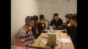 Rapeando en Radio ECO con Look The Killer